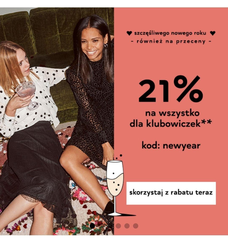 Orsay - 21% z kodem dla klubowiczek łączy się z wyprzedażą! (bez Special Price)