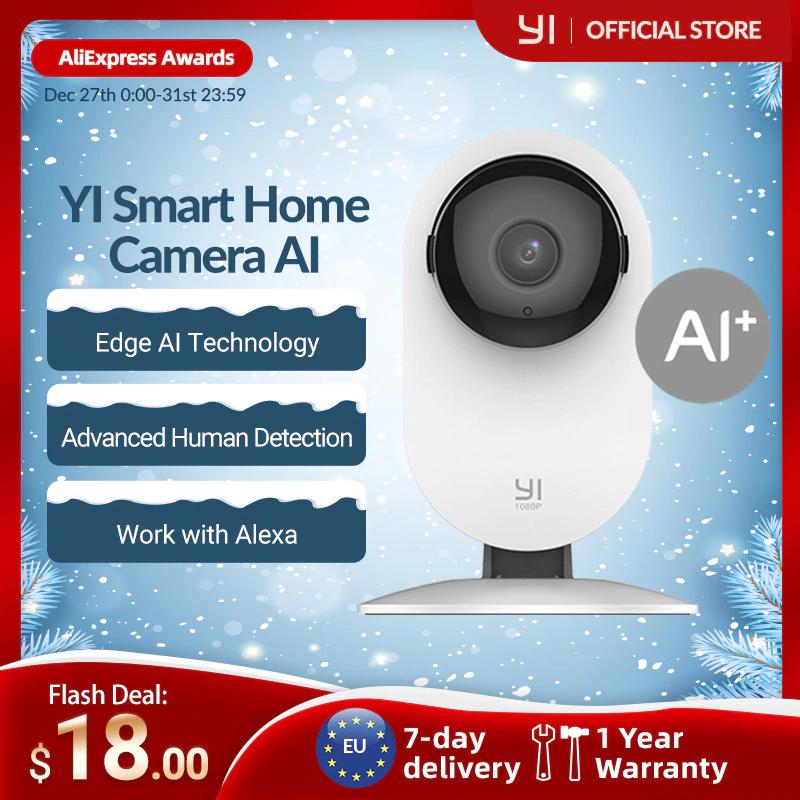 YI Home Camera 1080p z Hiszpanii @AliExpress