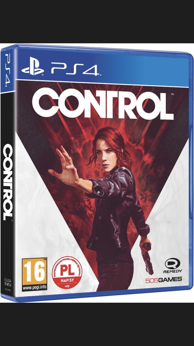 Gra Control na PS4 w wersji pudełkowej