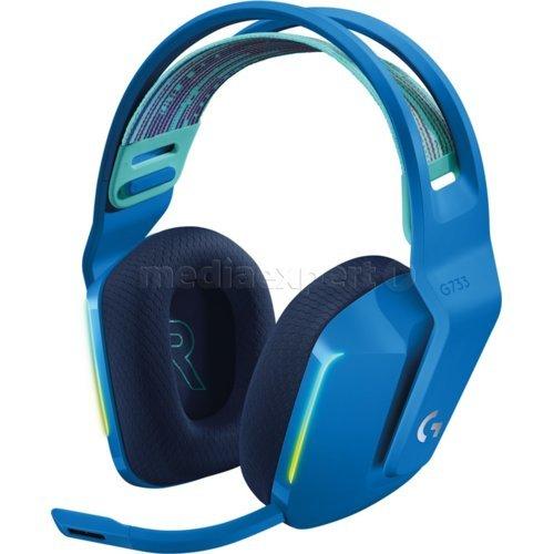 Słuchawki LOGITECH G733 Lightspeed Niebieskie