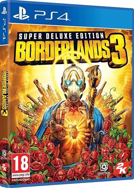 Borderlands 3 Super Deluxe Edition PS4 Steelbook