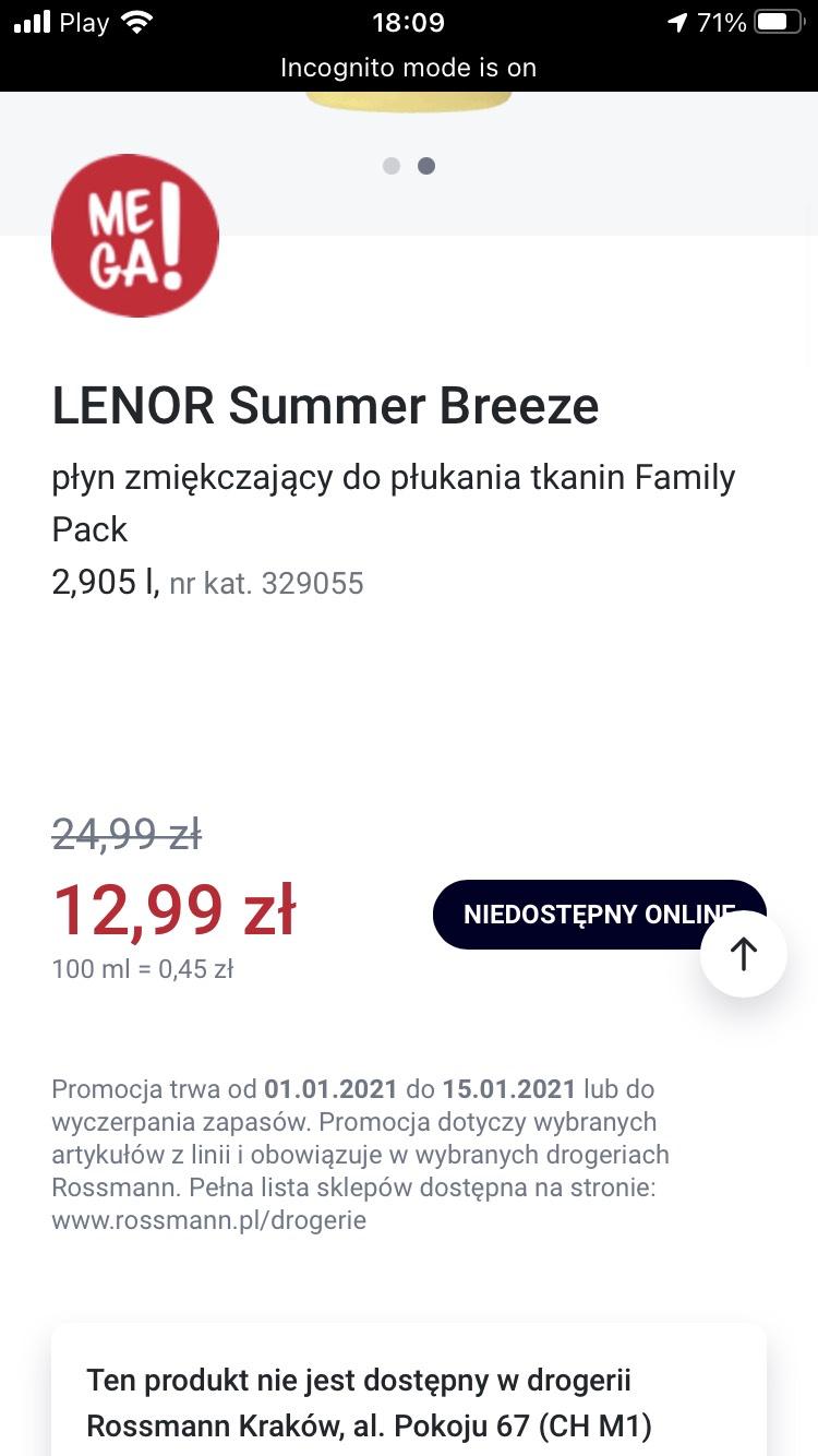 Lenor 2.905 rossmann