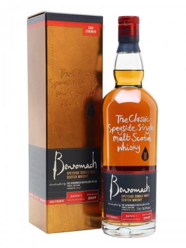 WHISKY BENROMACH CASK STRENGTH 2009 BATCH 2 2019 57,1% 0,7 na Alkooutlet