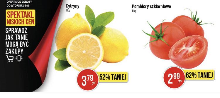 Pomidory szklarniowe w POLOmarket zestawienie oferty