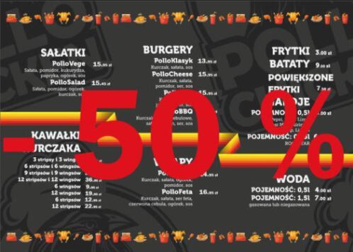 PolloChicken -50% na jedzenie Inowrocław