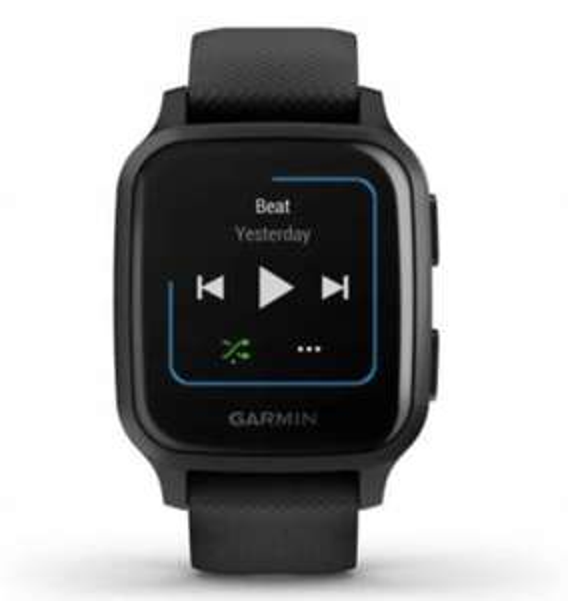 Smartwatch Garmin Venu sq music czarny - pudełko zamiennik