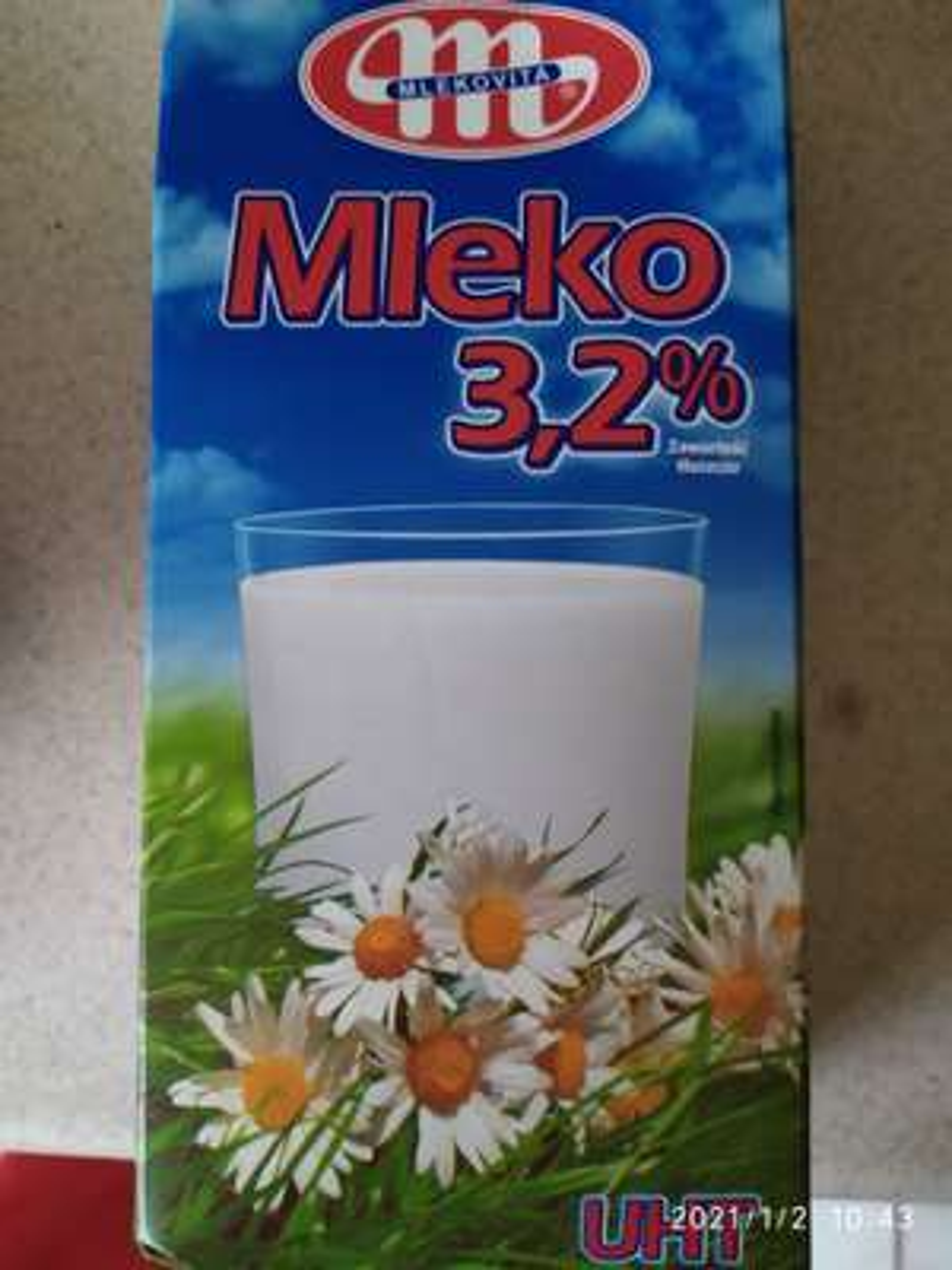 Lidl Mleko UHT Mlekowita 1l 3.2% Częstochowa Raków.