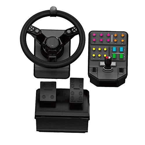 Kierownica (kontroler) + akcesoria Logitech G Saitek Farm Sim Controller (Niemiecki amazon, 139,54 euro, cena z Polskim vat i dostawą)