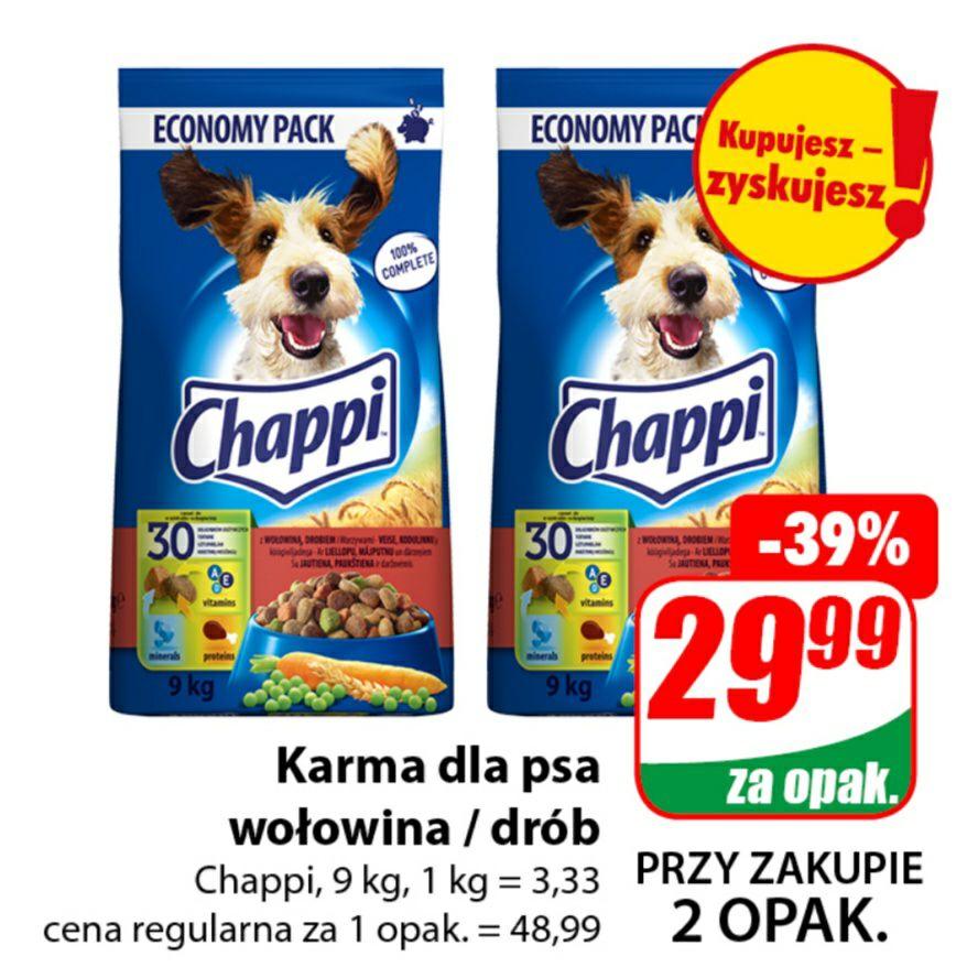 Karma dla psa Chappi 9kg - DINO