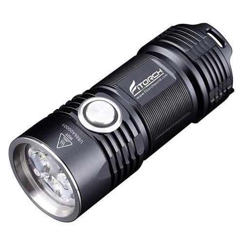 Fajna latarka Fitorch w dobrej cenie na Gearbest.Akumulator w zestawie.