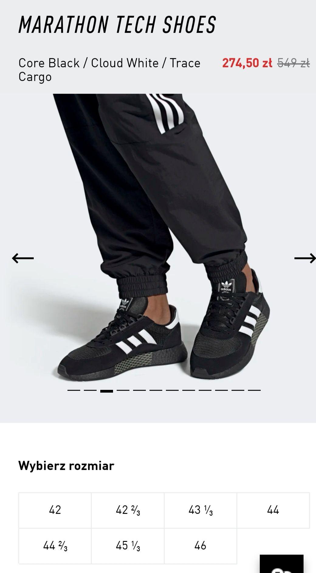 Adidas marathon tech shoes