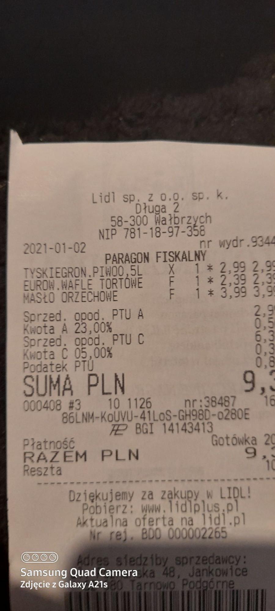 Pasta orzechowa 3.99