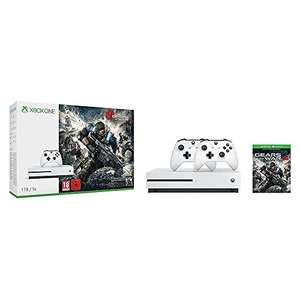 XBOX ONE S 1TB - 2 Kontrolery - Gears of War 4