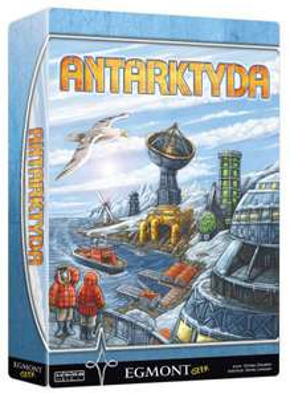 gra planszowa Antarktyda