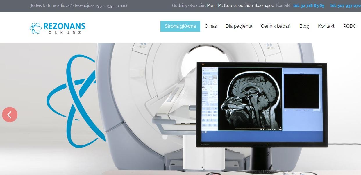 Rezonans Magnetyczny MR Olkusz - rezonans za połowę ceny