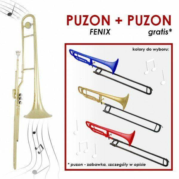 Puzon tłokowy lakierowany Fenix FSL-770 bez kwartwentyla, + gratis