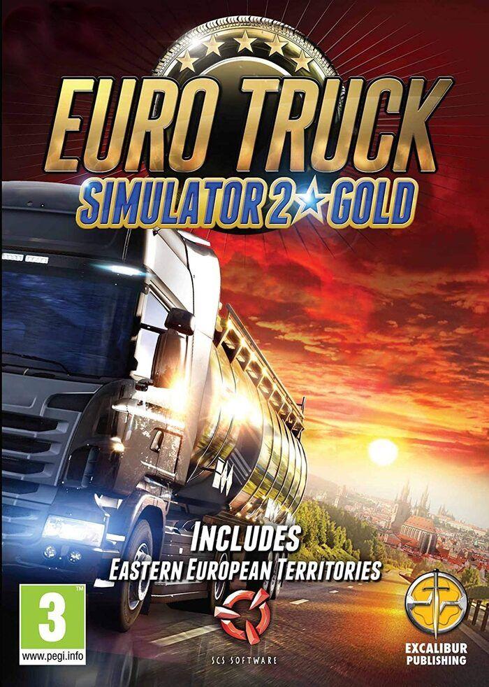 Euro Truck Simulator 2 (Gold Edition - podstawka + dodatek ! ) Steam Klucz