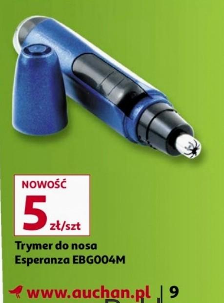 Trymer Esperanza Spike EBG004M do nosa, uszu w Auchan Białystok Hetmańska,Produkcyjna od 04.01.21 do 13.01.21