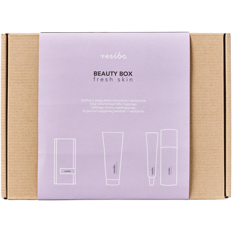 Zestaw kosmetyków Resibo żel+krem+opaska