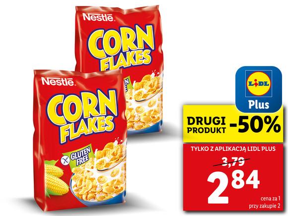 NESTLÉ Płatki Corn Flakes 250g - 2 produkt -50%