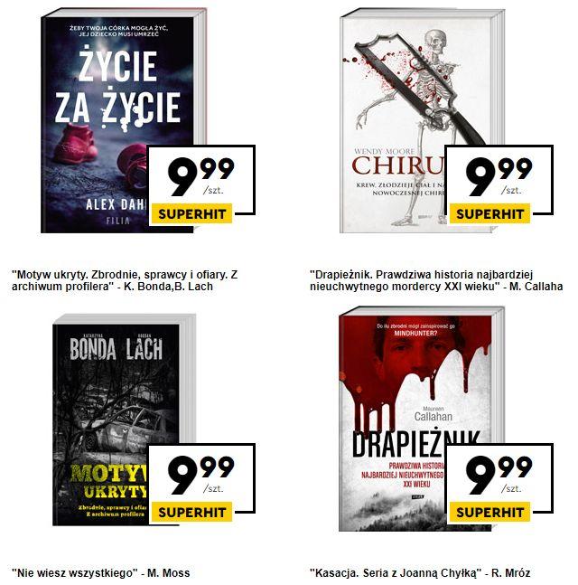 Książki w wydaniu kieszonkowym po 9,99 zł w Biedronce