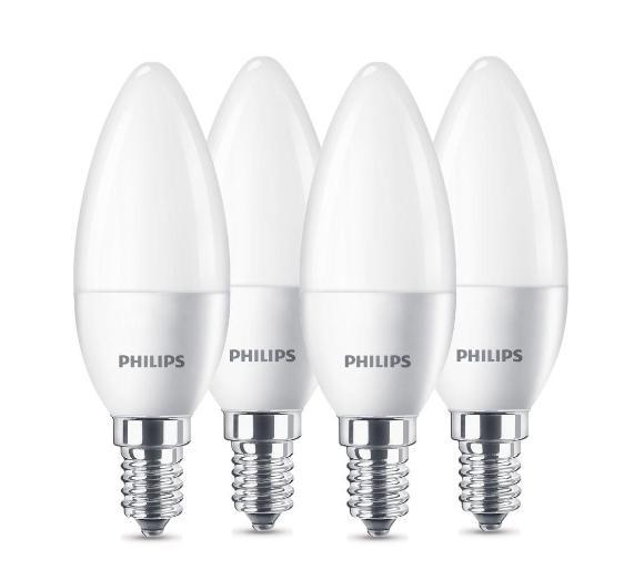 Philips LED Świeczka 5,5 W (40 W) E14 4 szt. Darmowy odbiór w EURO RTV AGD