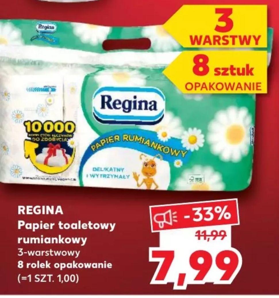 Papier toaletowy rumiankowy Regina Kaufland (04-05.01)