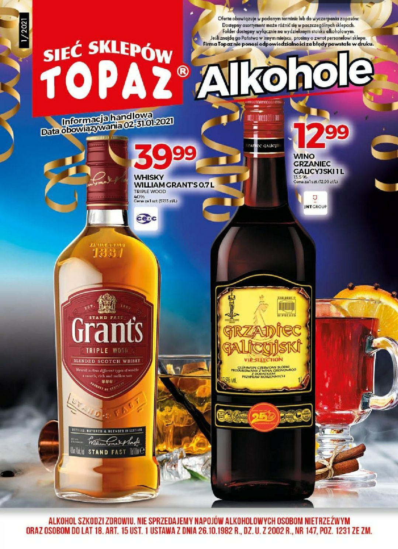 Whisky Grant's Triple Wood 0,7 Topaz