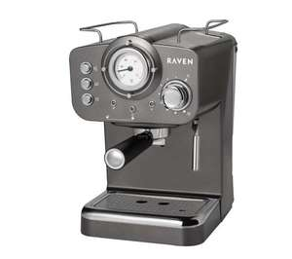 Ekspres ciśnieniowy RAVEN EER001G za 299zł @ RTV Euro AGD