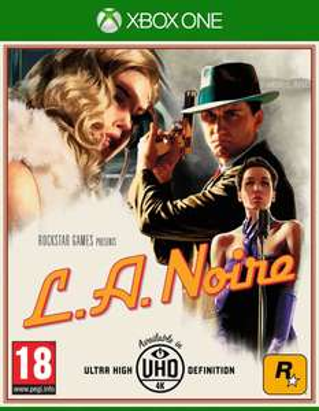 L.A Noire Xbox One wersja pudełkowa.