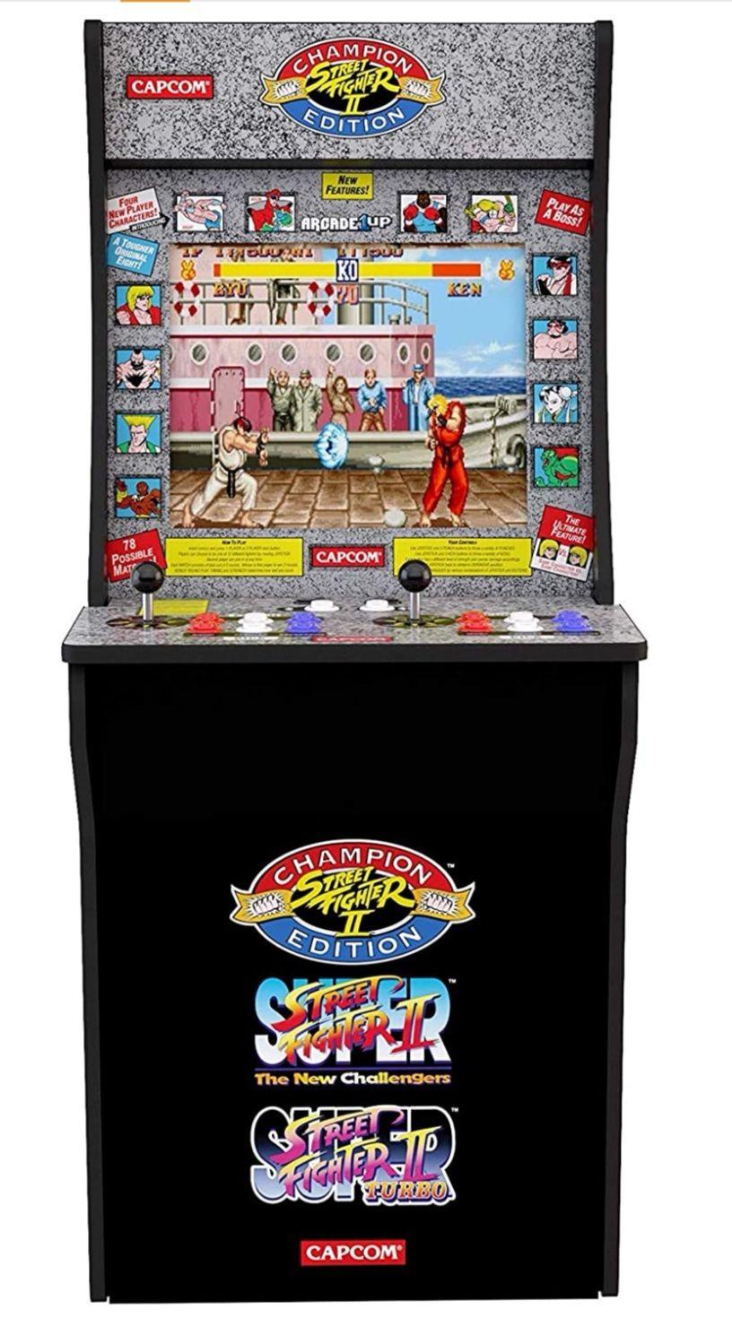 Automat do gier zręcznościowy Street Fighter II.