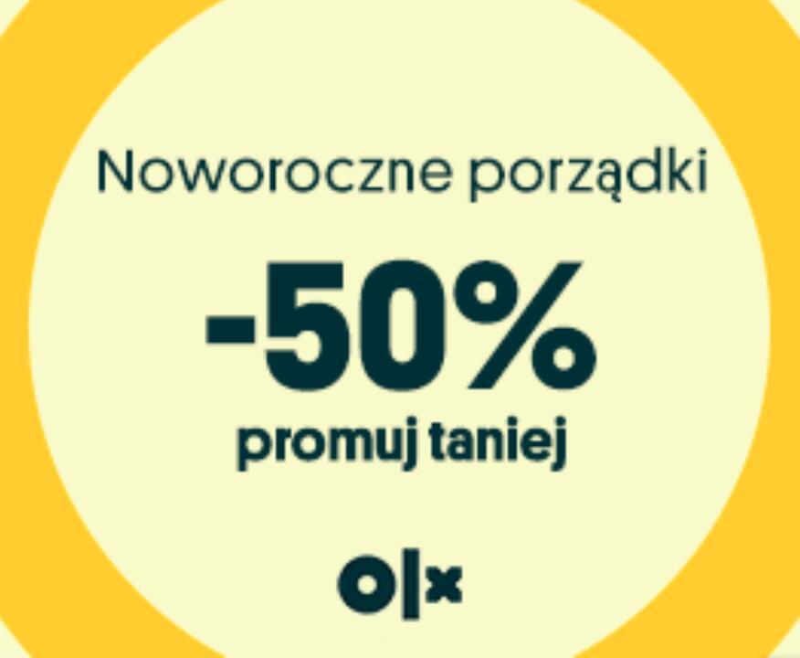 Wyróżnienie i Promowanie na OLX z Rabatem -50% Tylko dziś 04.01.2021