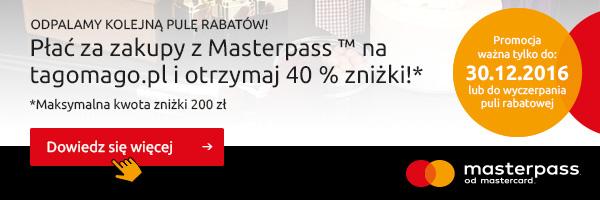 40% zniżki w tagomago.pl przy płatności masterpass powraca!