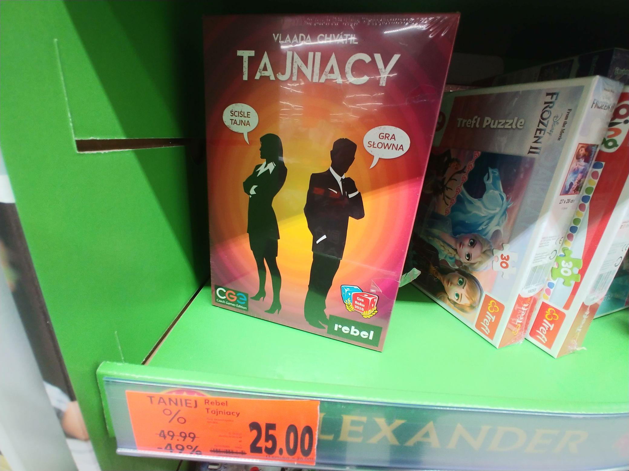 Tajniacy - Gra Planszowa