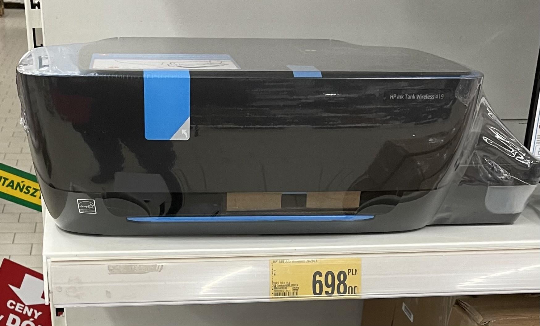 Urządzenie wielofunkcyjne HP 419 AIO - auchan