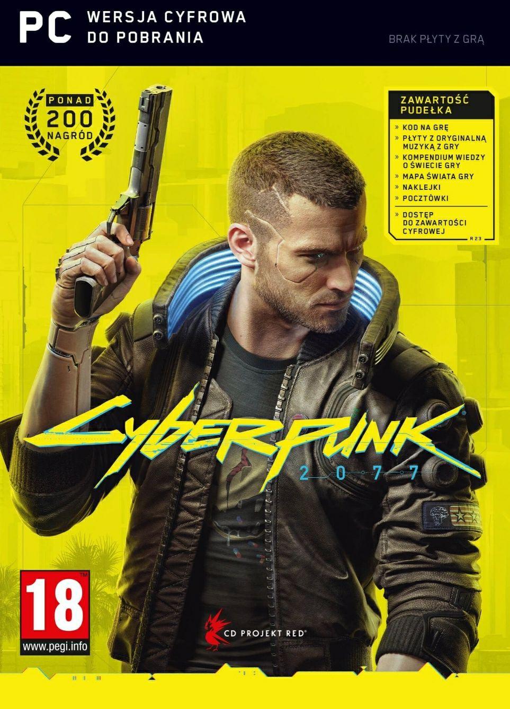 Cyberpunk 2077 PC (wersja pudełkowa)