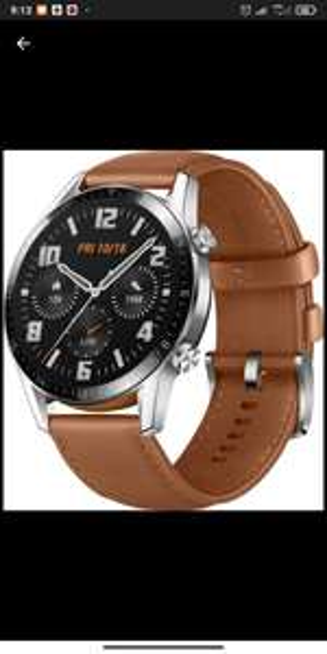 Smartwatch Huawei Watch GT 2 46mm Brązowy MORELE
