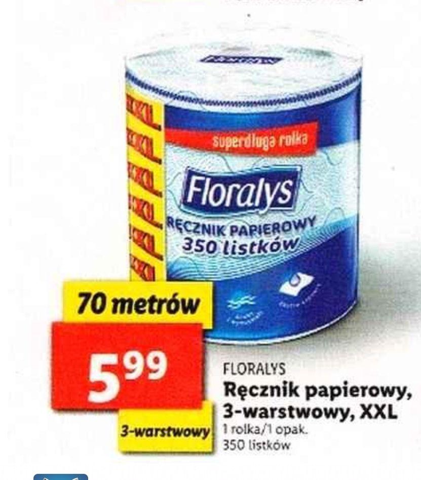 Ręcznik papierowy floralys xxl Lidl