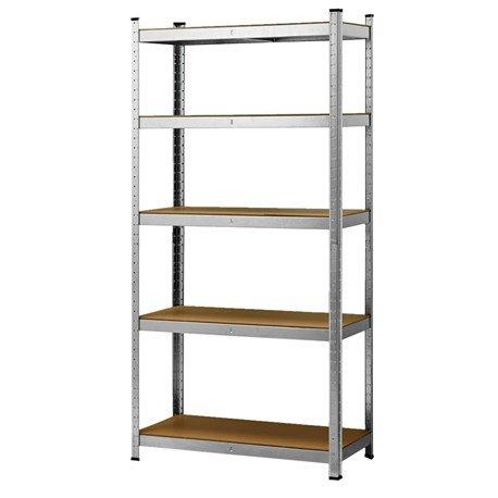 Regal metalowy, magazynowy 180x90x40, 5 półek, udźwig 175 na półkę od 6.01
