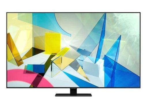 """Telewizor QLED Samsung QE55Q80TAT 55 """" 4K UHD czarny"""