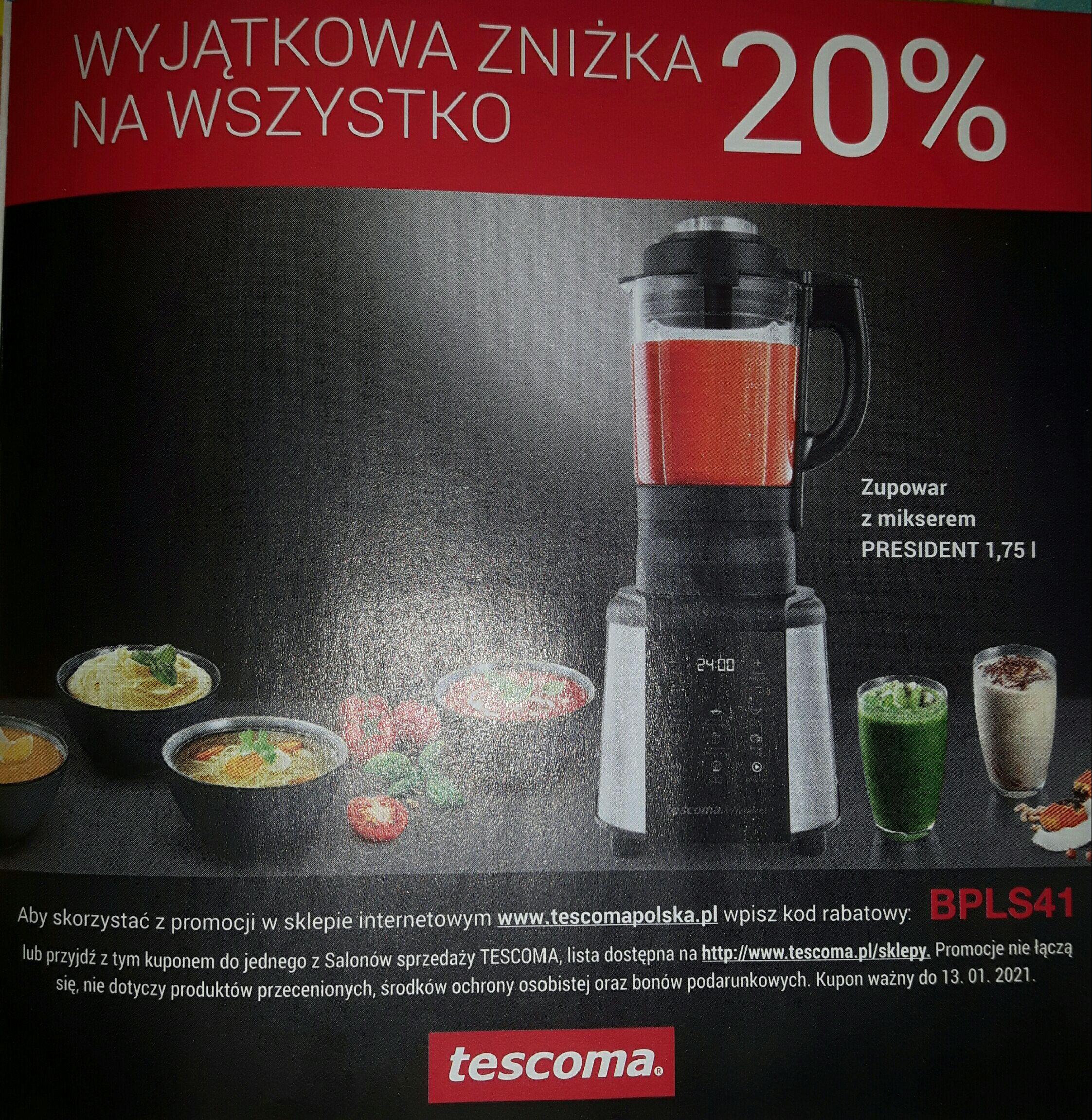 Rabat na produkty TESCOMA