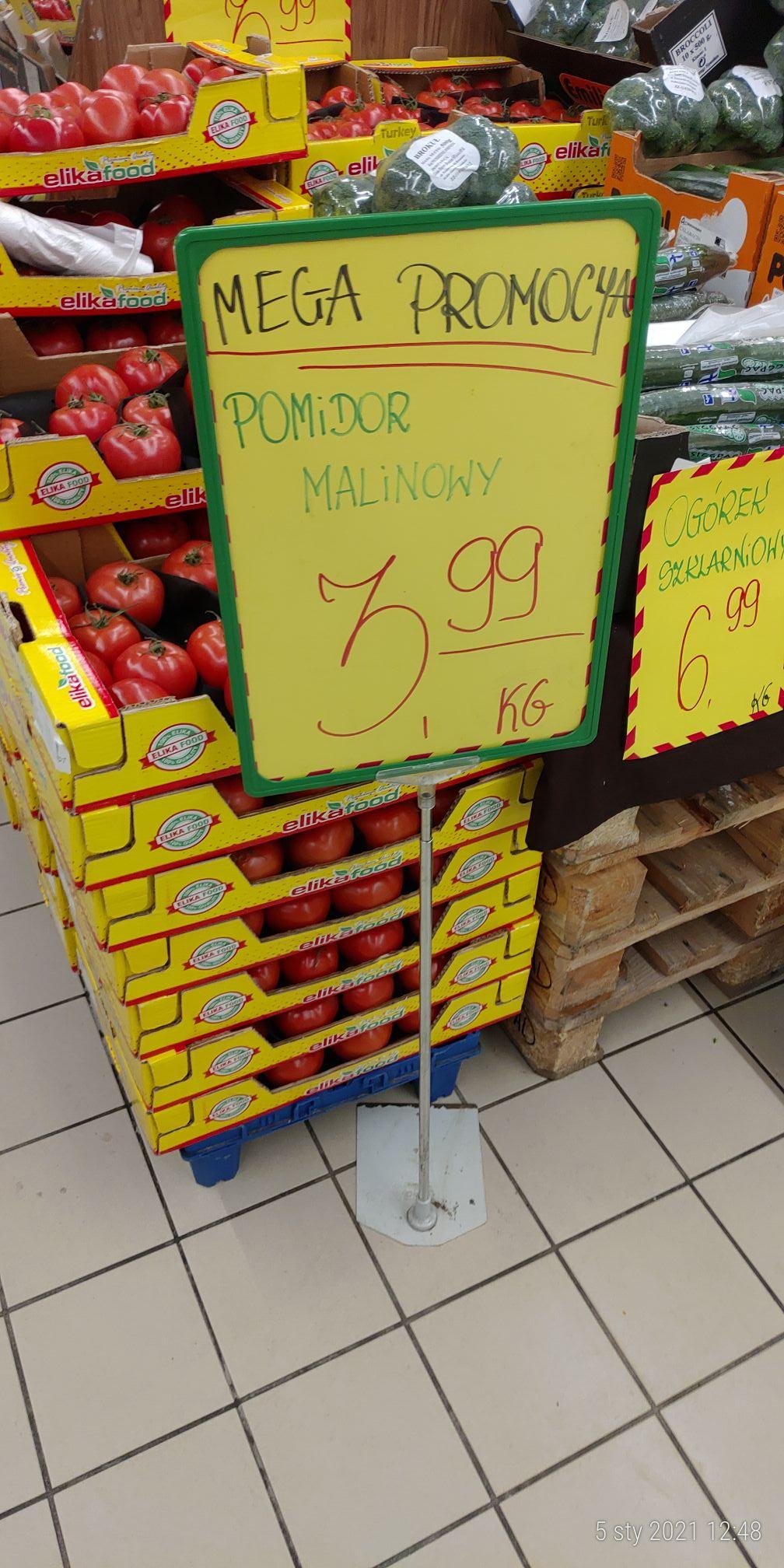 Pomidor malinowy, cytryna i inne