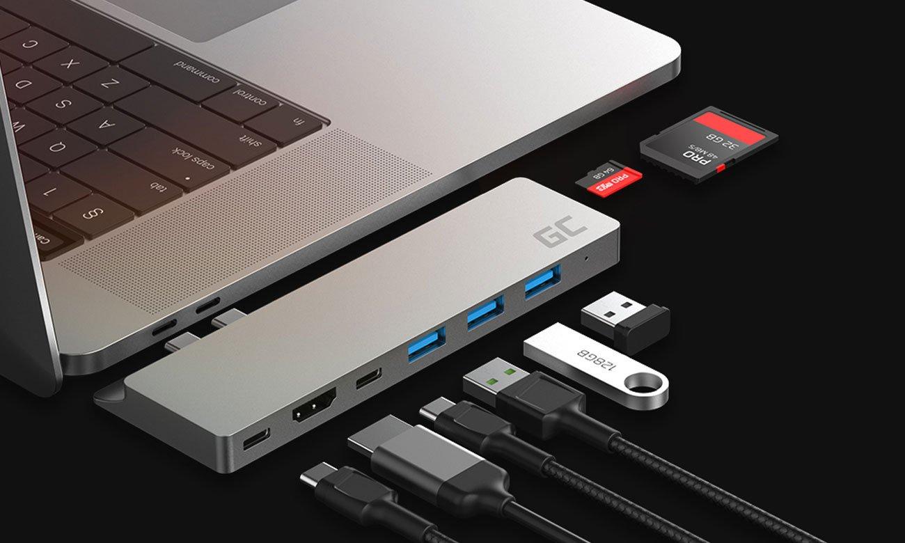 Green Cell USB-C - Thunderbolt3