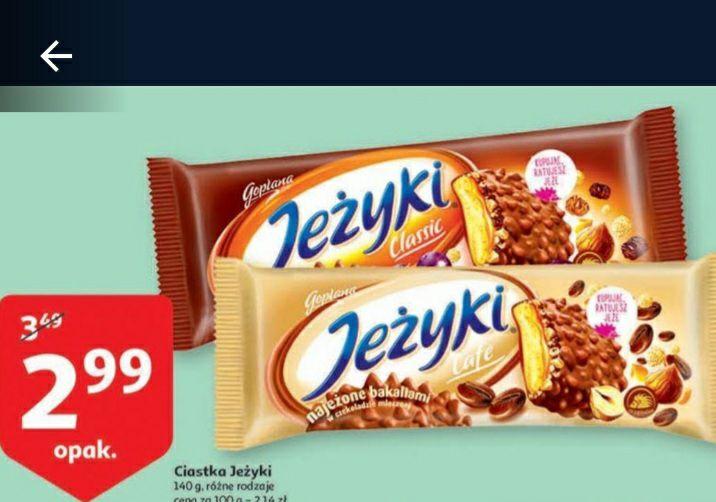 Ciastka Jeżyki - Auchan