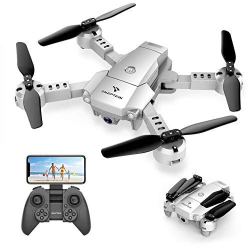 Dron (quadrocopter) SNAPTAIN A10, FPV, 2 baterie, 720p, fov 120, zasięg +/- 80m (Niemiecki amazon, 36,11 euro z Polskim vat i dostawą)