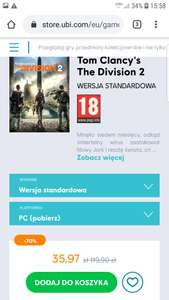 Tom Clancy's The Division 2 - edycja standardowa