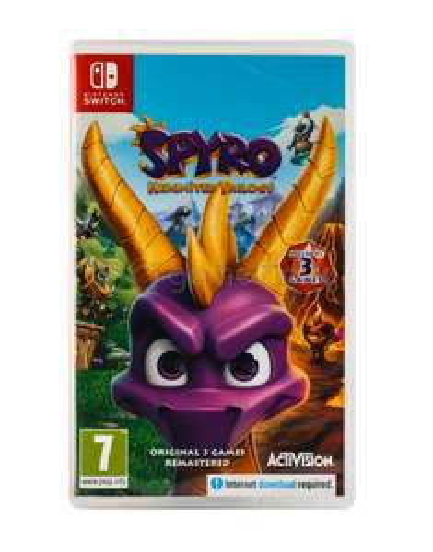 Spyro Reignited Trilogy PL (Switch)