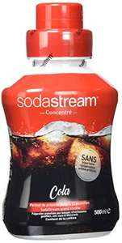 Syrop SodaStream Cola: 10 szt. koncentratu = ok. 120 litrów (końcowo ~1,81zł/litr coli) :)