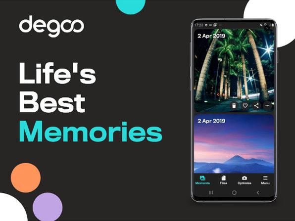 Degoo Premium: Lifetime 10TB Backup Plan