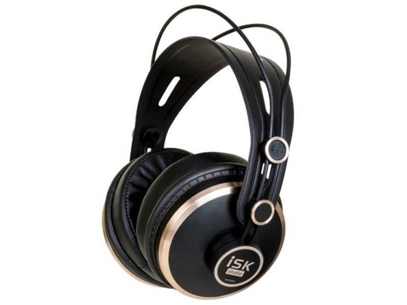 Słuchawki nauszne ISK HD-9999 Czarny
